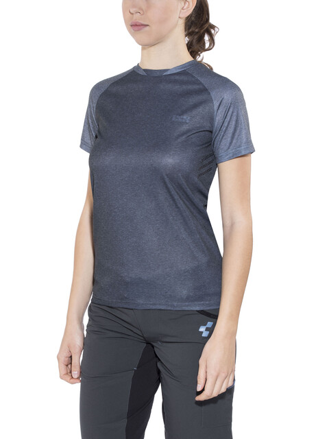 IXS Progressive 7.1 Trail Shortsleeve Jersey Women black/graphite